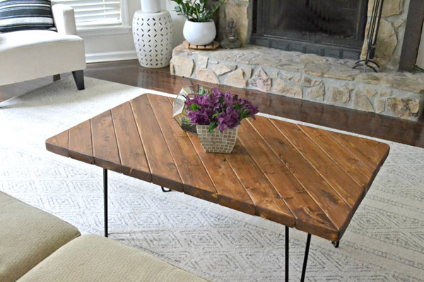 15-Minute DIY Coffee Table