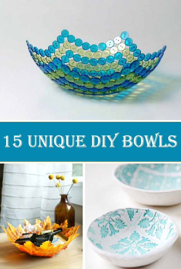 15 Unique DIY Bowls