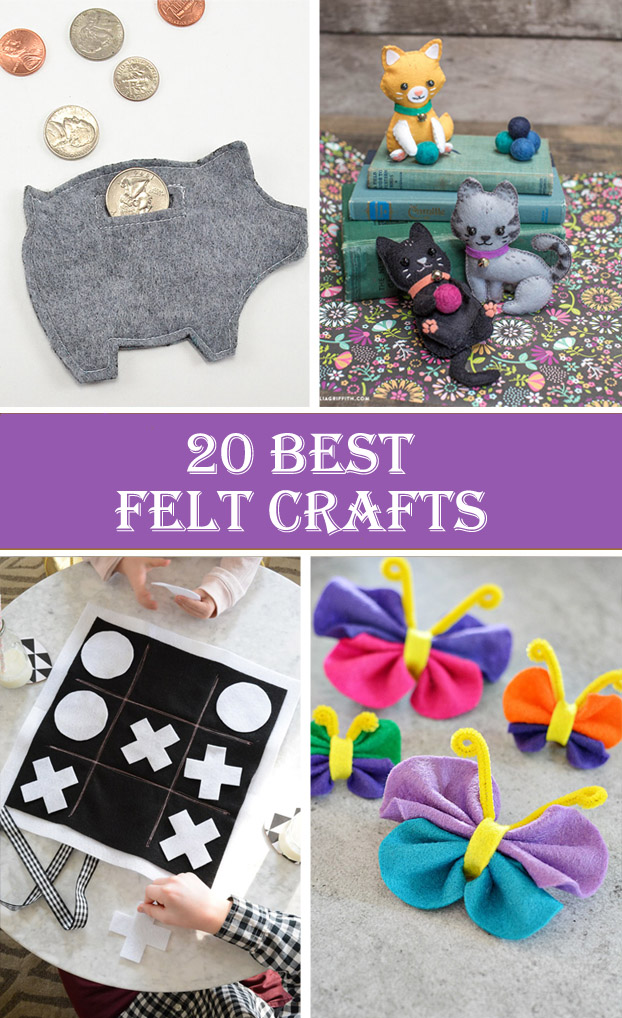 20 Best Felt Crafts