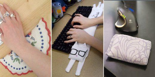 Comfy DIY Wrist Rests