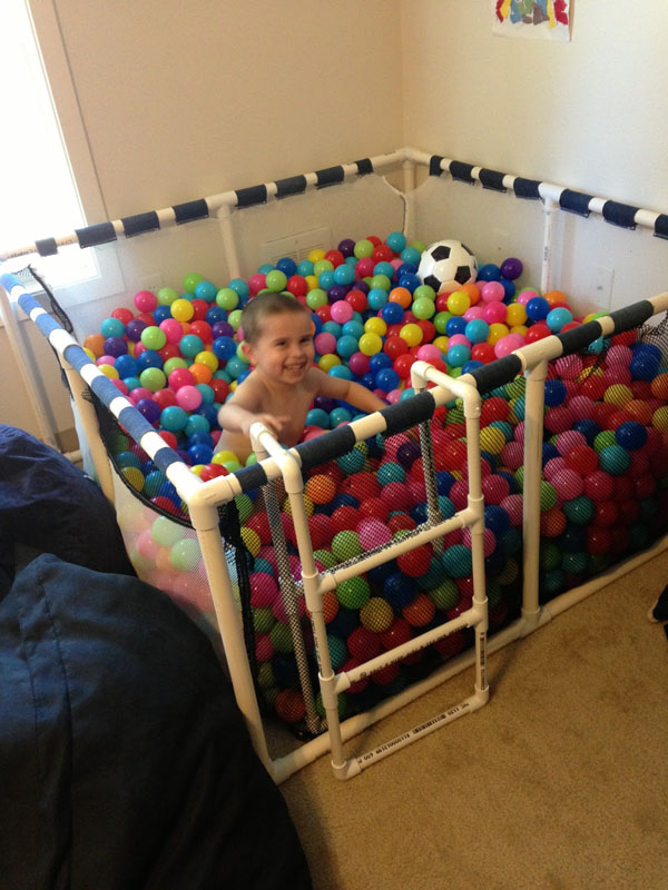 DIY Ball Pit by CupofAutism
