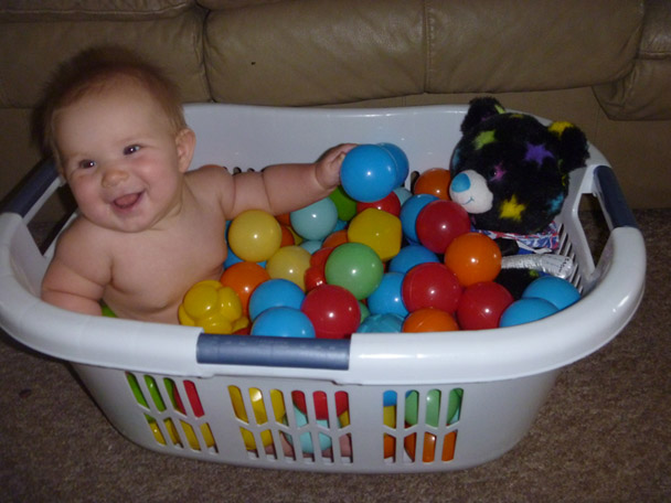 DIY Ball Tub by WildFlowerRamblings