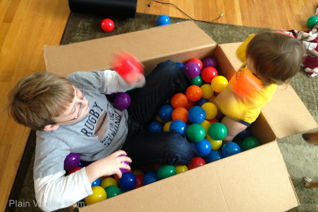 DIY Box Ball Pit