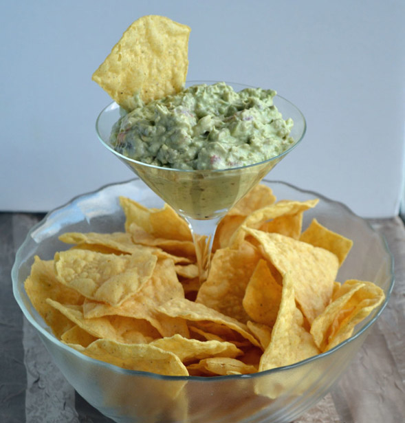 DIY Elevated Dip & Chip Bowl