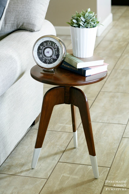 DIY Modern 3-Leg End Table