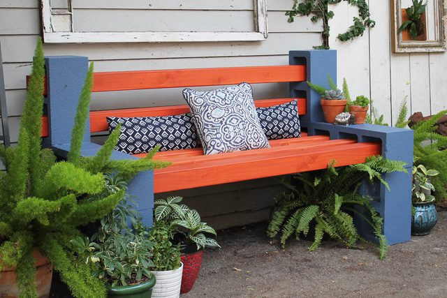 DIY Outdoor Bench by eHow