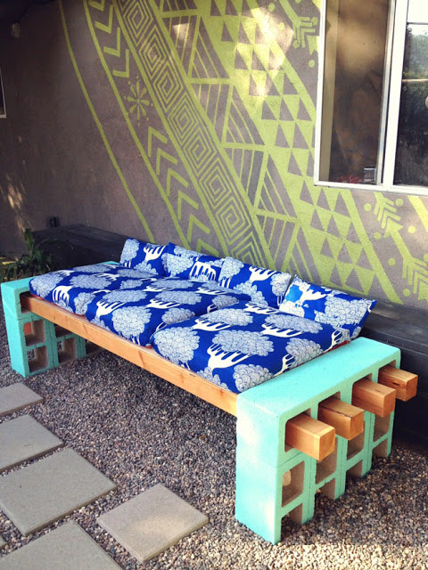 DIY Outdoor Seating by LenaSekine