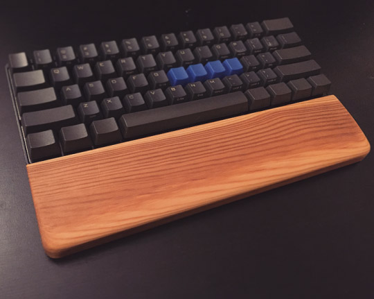 DIY Wooden Wrist Rest