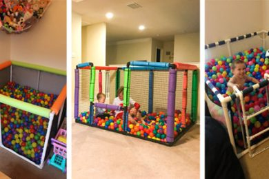 Easy & Fun DIY Ball Pit