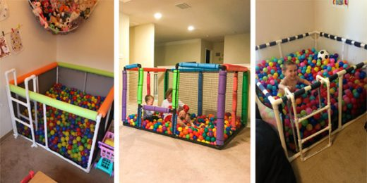 Easy & Fun DIY Ball Pit