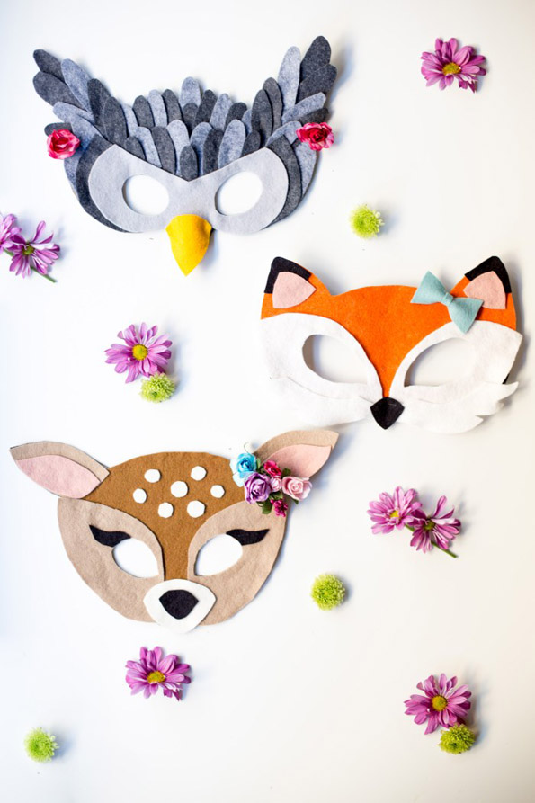 No-Sew Felt Animal Mask