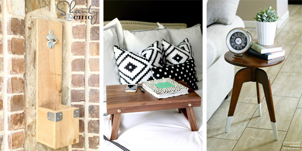 10 Gorgeous One Board Woodworking Projects Crafts Diy