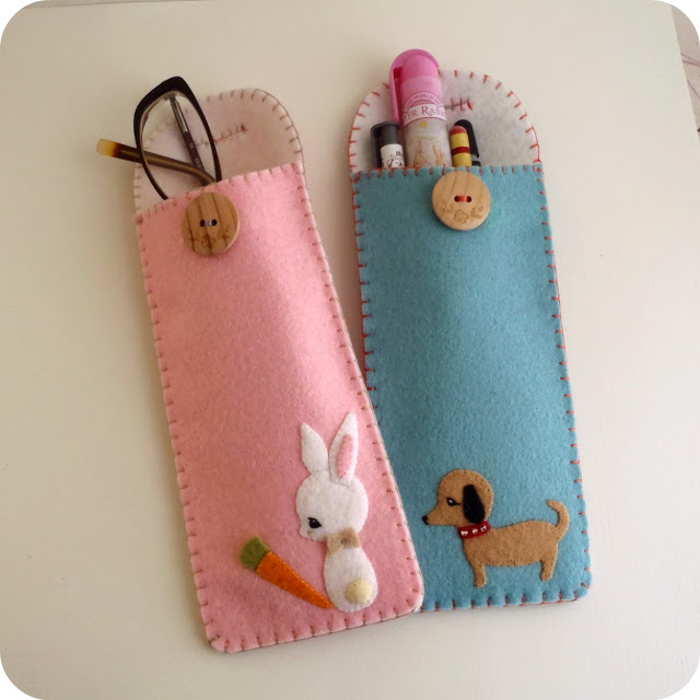 Pencil & Glasses Case