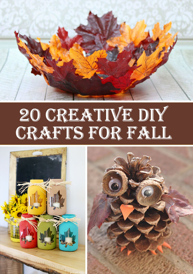 20 Creative DIY Crafts For Fall