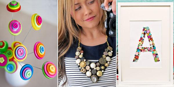 Creative Button Crafts