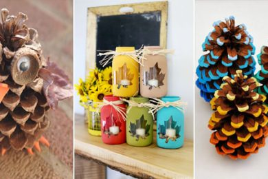 Creative DIY Crafts For Fall