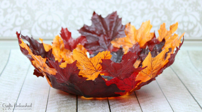 DIY Decorative Leaf Bowl