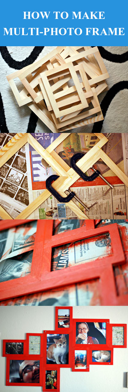 DIY Multi-Photo Frame