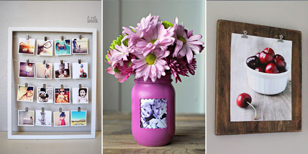 if you are looking new ways to display your photos then we have for you 10 cool photo frame ideas which you can diy thanks to these photo frames you can - Diy Picture Frame Ideas