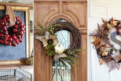 Beautiful DIY Fall Wreaths