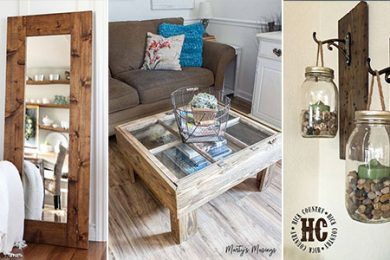 DIY Rustic Home Decor Projects